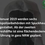 Police in North Rhine-Westphalia will be equipped with spittoons nationwide in 2019